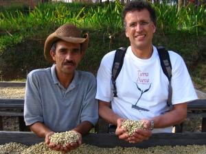 Dagoberto and Bob in Honduras